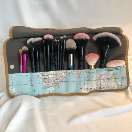 Patron pochette make-up, Créatrice Dijon