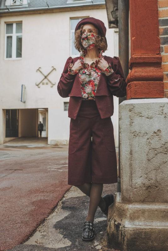 Tailleur Bermuda Femme, Bermuda, Styliste Dijon, Séverine Maire, By Sue-Sue