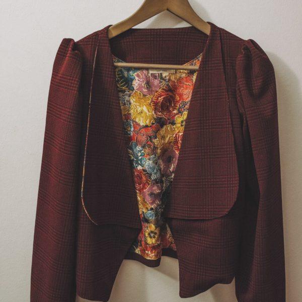 Tailleur bermuda femme, Collection automne hiver 2020, Séverine Maire, Styliste Dijon