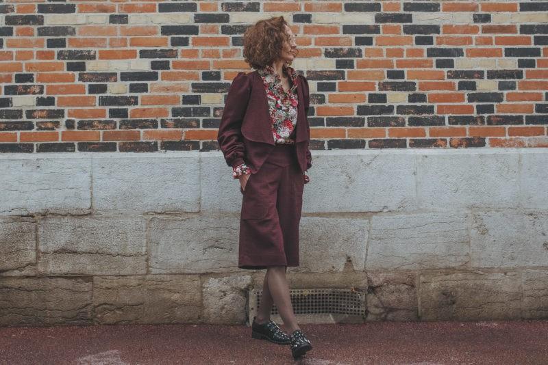 Mode éthique et écoresponsable, Blouse bohème chic romantique, Séverine Maire, By Sue-Sue, Couture sur-mesure, Dijon