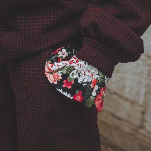 Tailleur Bermuda, Détails couture, By Sue-Sue, Styliste Dijon