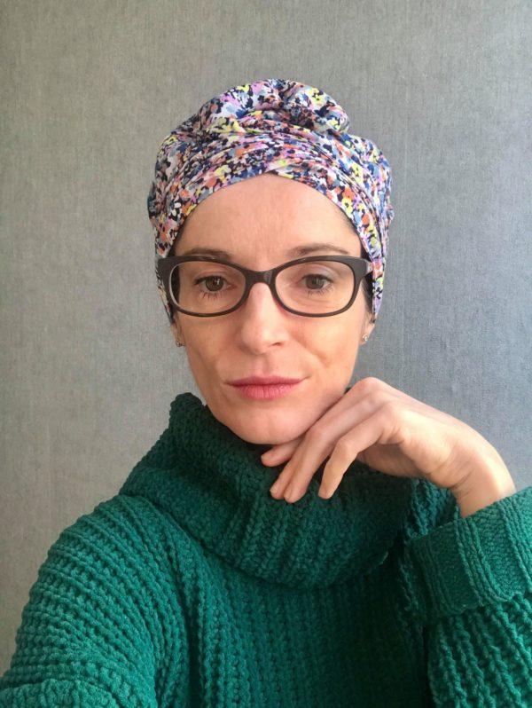 Bonnet, Turban, Headwrap, Bonnet de nuit, By Sue-Sue, Créatrice Dijon