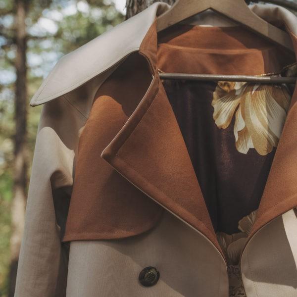 Trench-coat, By Sue-Sue, Créatrice mode éthique, Styliste modéliste, Dijon