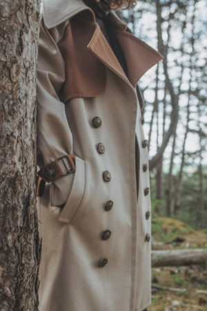 Trench-coat By Sue-Sue Styliste Dijonnaise