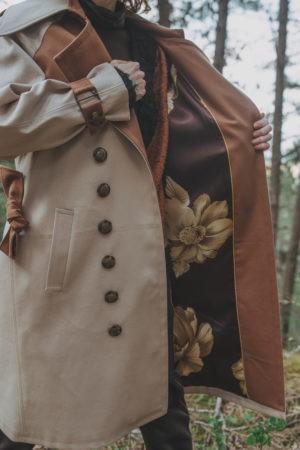 Trench-coat By Sue-Sue Styliste Dijon